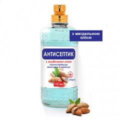 Антисептик-спрей с миндальным маслом 70%, 115мл