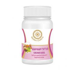 Канчнар гуггул (экстракт) Нормализует деятельность лимфатической системы Golden Chakra, 60 т.