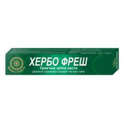 Хербофрэш зубная паста Golden Chakra, 100 г