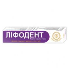 Лифодент зубная паста Golden Chakra, 75 г