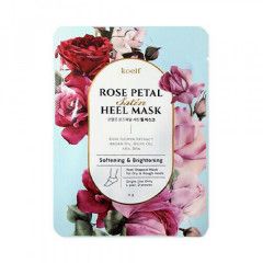Смягчающая маска для пяток KOELF Rose Petal Satin Heel Mask