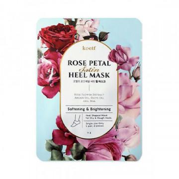 Смягчающая маска для пяток KOELF Rose Petal Satin Heel Mask , 1 шт.