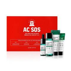 Набор миниатюр кислотных средств для проблемной кожи SOME BY MI AHA-BHA-PHA 30 Days Miracle AC SOS K