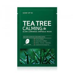 Набор: Успокаивающая ампульная маска с чайным деревом SOME BY MI Tea Tree Calming Glow Luminous Ampo