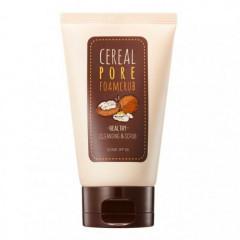 Пенка-скраб с рисовыми отрубями SOME BY MI Cereal Pore Foam Scrub, 100 мл