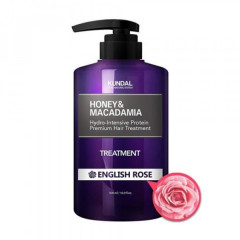 """Маска-Кондиционер для волос """"Английская роза"""" KUNDAL Honey & Macadamia Tre"""