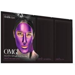 Трёхкомпонентный комплекс масок «Глубокое увлажнение и релакс» Double Dare OMG! Platinum Purple Faci