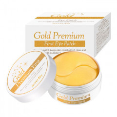 Патчи для глаз Secret Key Gold Premium First Eye Patch, 60 шт