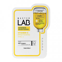 Тканевая маска для лица с витамином С Tony Moly Master Lab Vitamin C Mask 19г