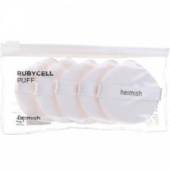 Спонжи для нанесения макияжа HEIMISH Rubycell Puff 5шт