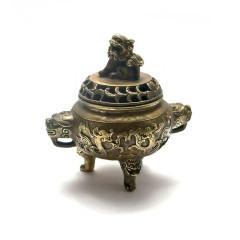 Курительница бронзовая (11,5х12х9 см)
