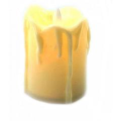 Свеча с Led подсветкой (5х3,5х3,5см)
