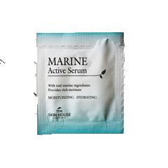 Пробник Увлажняющая сыворотка для лица с керамидами The Skin House Marine Active Serum, 2 мл