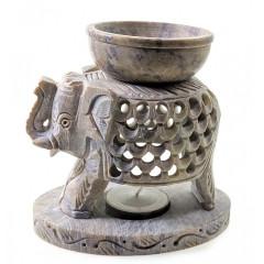 "Аромалампа из мыльного камня ""Слон"" (11,5х11х7 см)"