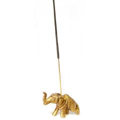 """Подставка под благовония """"Слон"""" бронза (6х3х2 см)"""