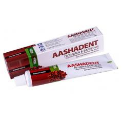 Зубная паста с Гвоздикой и Барлерией Aasha, 100 мл