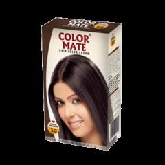 Крем-краска для волос Color Mate Hair Color Cream, Темно-коричневый, 130мл