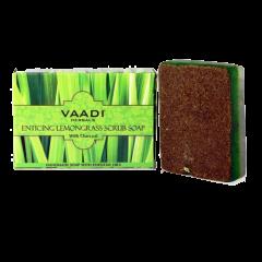 Мыло-скраб с лимонной травой Vaadi, 75 г