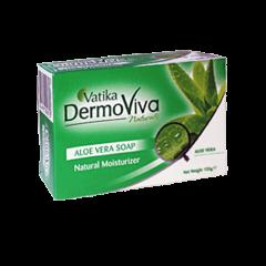 Аюрведическое мыло для всех типов кожи Vatika DermoViva Aloe Vera, 125 г