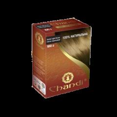 Аюрведическая лечебная краска для волос Chandi, Светло коричневый, 100г