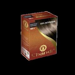 Аюрведическая лечебная краска для волос Chandi, Коричневый, 100г