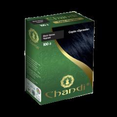 Краска для волос Chandi, серия органик, Черный, 100г