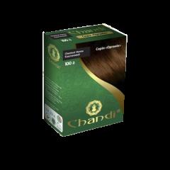 Краска для волос Chandi, серия органик, Каштановый, 100г