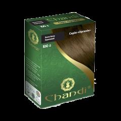 Краска для волос Chandi, серия органик, Коричневый, 100г