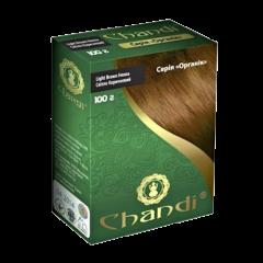 Краска для волос Chandi, серия органик, Светло-коричневый, 100г