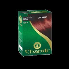 Краска для волос Chandi, серия органик, Бургунд, 100г