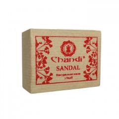 Натуральное мыло ручной работы Сандал Chandi, 90г