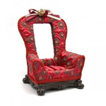 "Подставка под бижутерию с зеркальцем ""Кресло"" (15х11,5х9 см)"