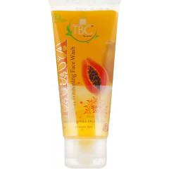 Гель для умывания с папаей Tbc By Nature Papaya Skin Whitening Face Wash SPF-20, 60 ml