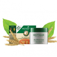 Питательный и укрепляющий крем для лица и тела Био Зародыши Пшеницы Biotique, 50г