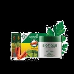 Солнцезащитный питательный крем для лица SPF 40 Био Морковь Biotique, 50г