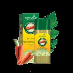 Солнцезащитный питательный лосьон для лица и тела SPF 40 Био Морковь Biotique, 120мл