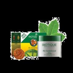 Солнцезащитный влагоустойчивый крем SPF 50 Био Сандал Biotique, 50мл