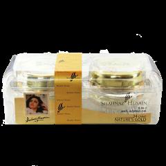 """Омолаживающий набор: крем с частичками золота и гель """"Сияние кожи"""" Shahnaz Husain,"""