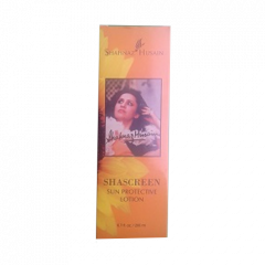 Солнцезащитный лосьон Shascreen (Шаскрин) Shahnaz Husain, 200мл