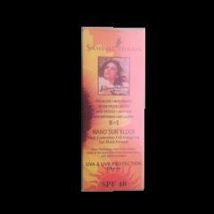 Солнцезащитный крем Nano Sun Block SPF-40 Shahnaz Husain, 80г