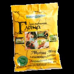 Лечебная глина Мултани Митти с добавлением 3 аюрведических растений Триюга, 35г