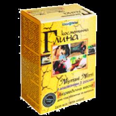 Лечебная глина Мултани Митти с добавлением 3 аюрведических растений Триюга, 100г