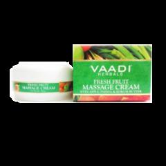 Крем Свежие фрукты с яблоком, папайя и кокосовым маслом Vaadi, 90г