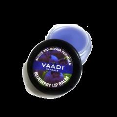 Бальзам для губ восстановляющая формула с черникой Vaadi, 6г