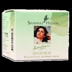 Скраб для лица и тела с грецким орехом Шаскраб Shahnaz Husain, 40г
