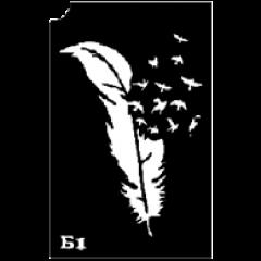 Трафарет для биотату (средний) в ассортименте