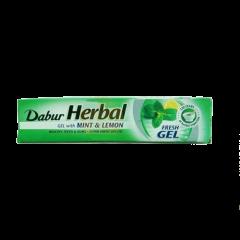 Зубная паста Мята и лимон фреш гель Dabur, 80мл