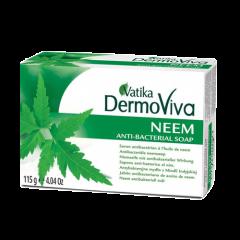 Аюрведическое мыло Vatika DermoViva Neem с экстрактом Нима, 115 г