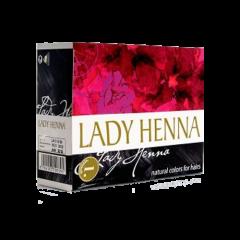 Краска для волос на основе хны Lady Henna, Черный, 60г