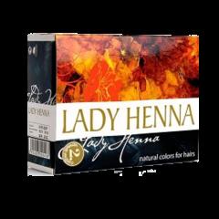 Краска для волос на основе хны Lady Henna, Черный индиго, 60г